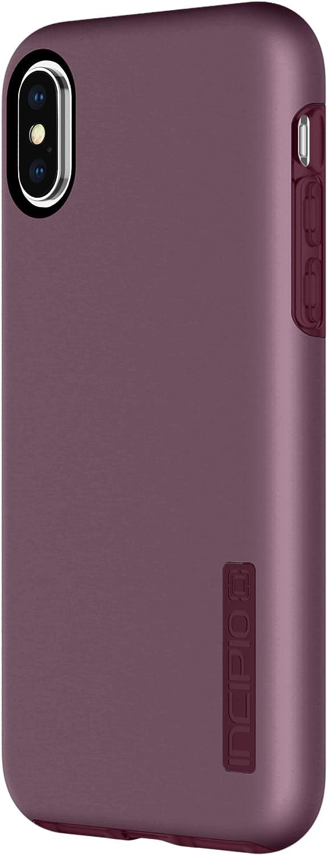 Incipio Apple iPhone X Dualpro Case - Iridescent Merlot