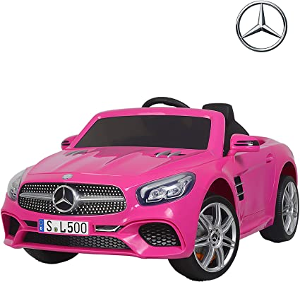 Amazon.com: Uenjoy 12V Licensed Mercedes-Benz SL500 Kids Ride On ...