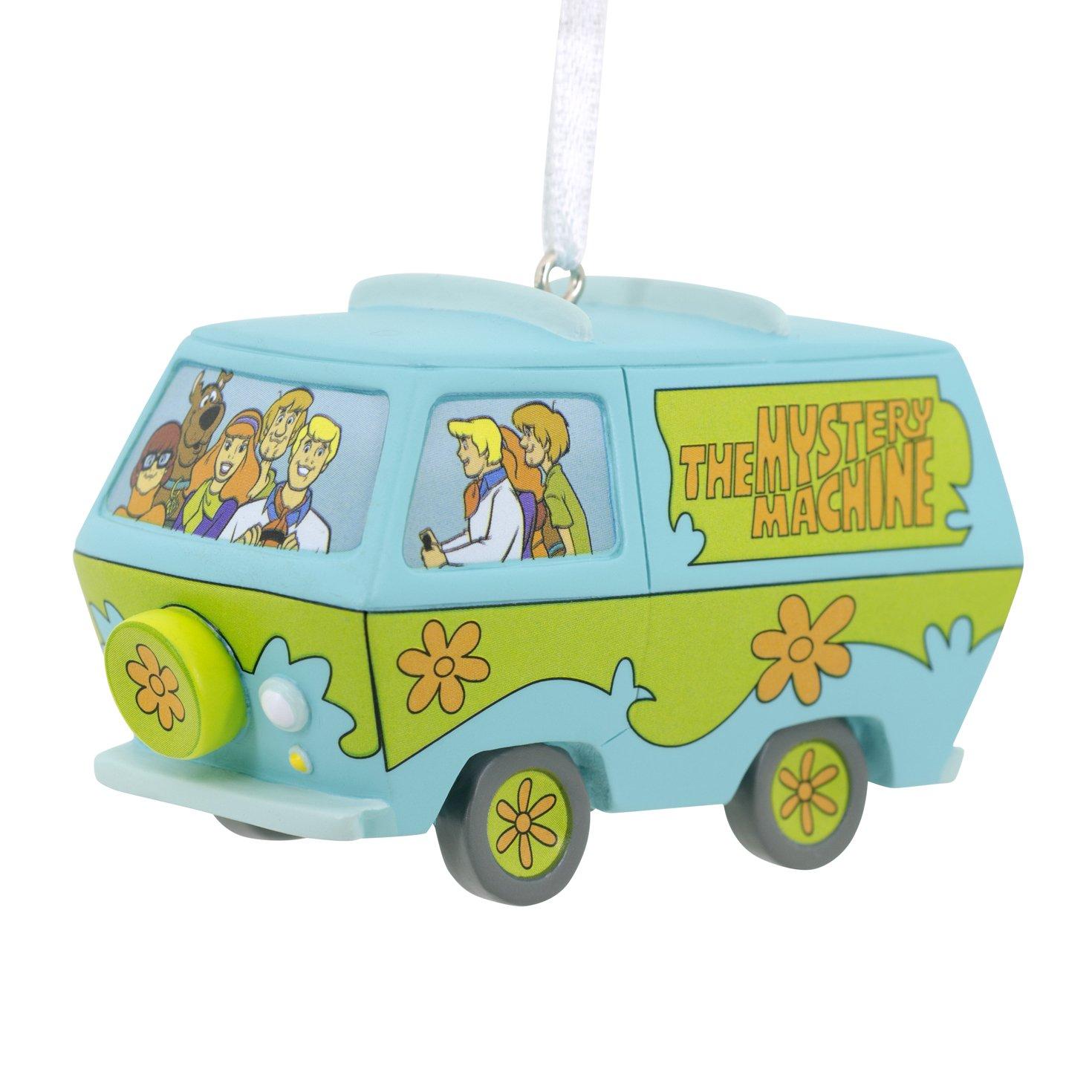 Amazon.com: Hallmark Scooby-Doo Mystery Machine Holiday Ornament ...