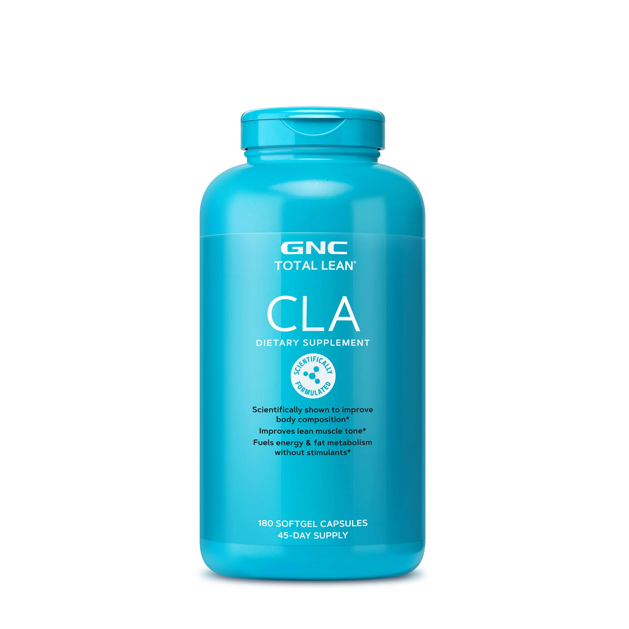 GNC Total Lean CLA, 180 Softgels, Supports Exercise and Muscle Recovery by GNC