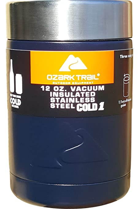 36315b6ec25 Amazon.com: Powder Coated Ozark Trail Can Cooler - Sports Team and Color  Theme (Navy Blue): Kitchen & Dining