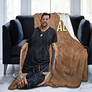 "Cfgerends Gary Allan Ultra-Soft Blanket Quilt Blanket Men Women Bed Sofa Home Office 60""x50"""