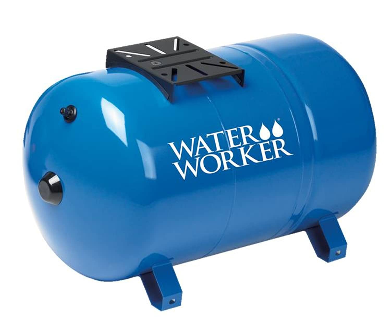 WaterWorker HT20HB Horizontal Pressure Well Tank, 20-Gallon Capacity ...