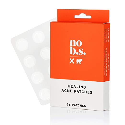 No B.S. Acne Patch - Acne Spot Treatment For Daily Use - Discreet, Non-Irritating, Quick Healing To Prevent Acne Scars