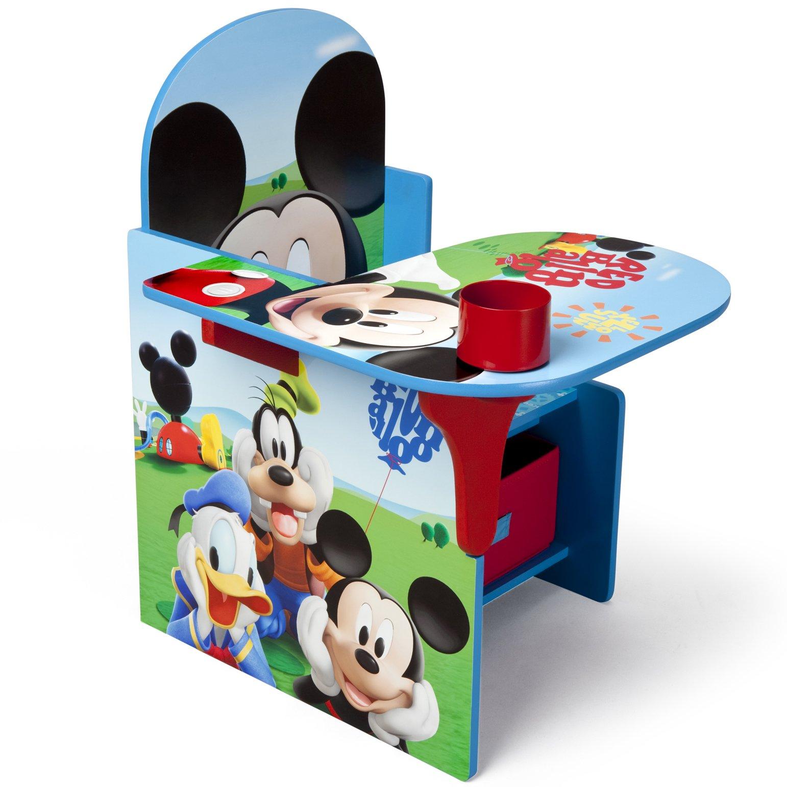 Delta Children Chair Desk With Storage Bin, Disney Mickey Mouse by Delta Children (Image #3)