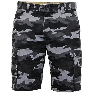 2da032ecb3 WestAce Mens Army Casual Work Cargo Combat Camouflage Shorts Cotton Chino  Half Pant Camo (Grey