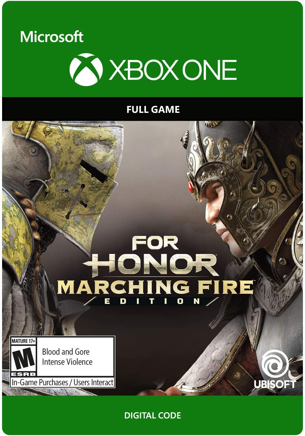 Amazon com: For Honor: Marching Fire Edition - Xbox One