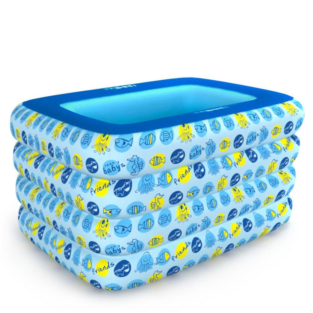 Baby Schwimmbad/Aufblasbare Planschbecken/Babyschwimmen Fässer/Isolierung nach Hause Neugeborene Kinder Schwimmbad-B