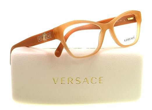 Amazon.com: Versace VE 3180 – Lentes anteojos 5039 Beige y ...