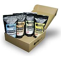 Café Molido. Quality Roasters Coffees. 100% Arabica. Pack regalo y degustación. Molido fino. 4 orígenes: Colombia…