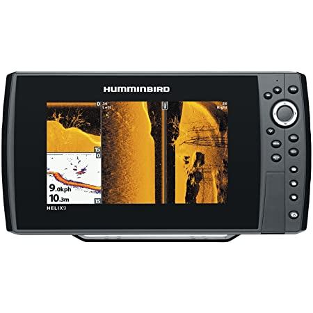 Humminbird 409950-1 Helix 9 SI 480×800 Sonar with Dual Beam GPS, 9