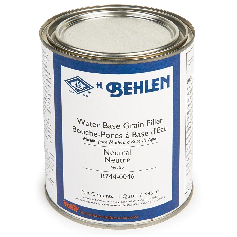 Water Base Grain Filler, Neutral, Quart - Behlen Grain Filler ...