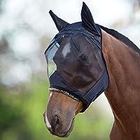 Harrison Howard CareMaster Máscara Anti-Moscas Protección con Orejas Negro