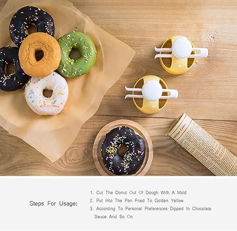 DIY Donut Mold Cake Bread Cutter Maker Decorating Tools Desserts Baking @ev ion9