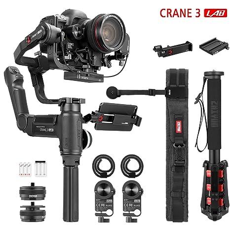 ZHIYUN Crane 3 Lab Creator Package Estabilizador Gimbal de 3 Ejes ...
