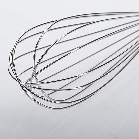 Westmark Schneebesen 12512270 Silber Rostfreier Edelstahl L/änge: 23 cm