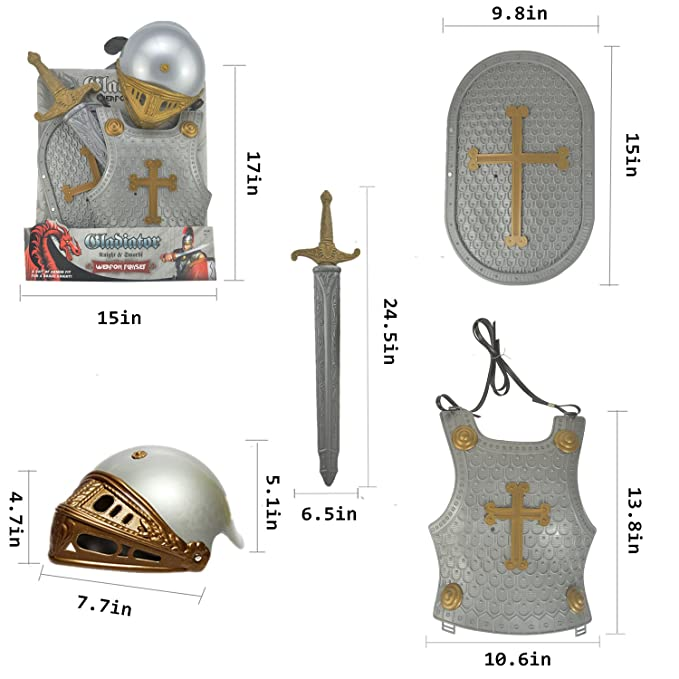 Amazon.com: Traje de noche para niños, traje de armadura ...