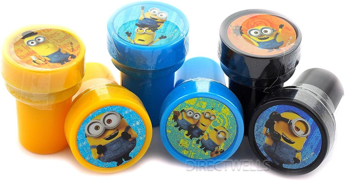 Despicable Me Minions Authentic Licensed Stampers Party Favors (10 Stampers)