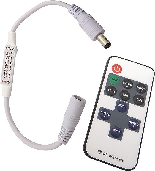 LED Schnur Lichtleiste Dimmer Touch Schalter 12-24V für Einzelne Farbe Leiste