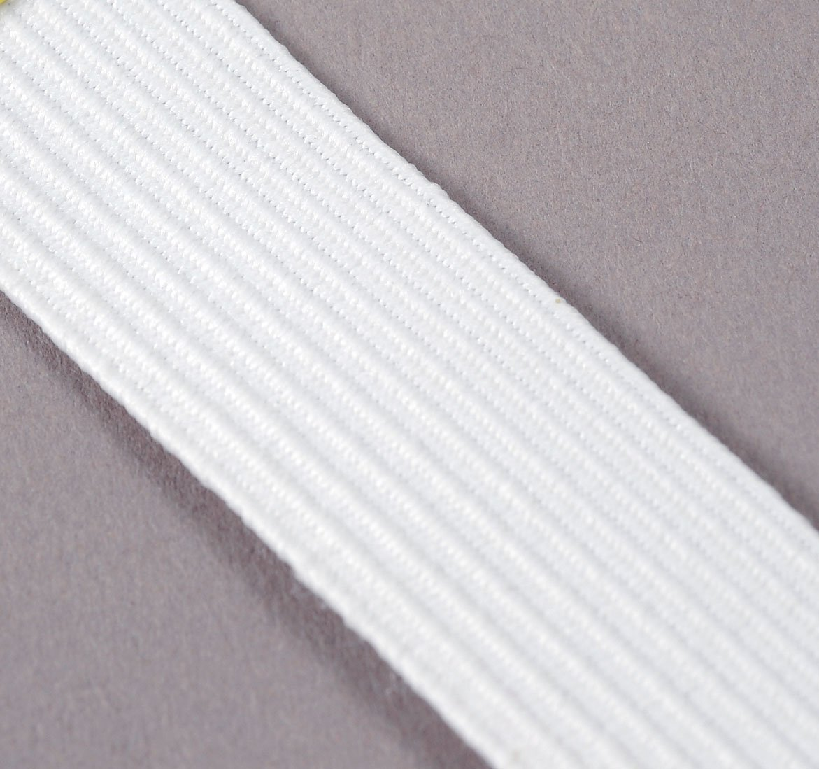 3/4(19mm) x 10y Heavy BRAIDED Elastic - Tutu Waistband (Color White) by MJ's Crafts & More   B00JBW2AGA