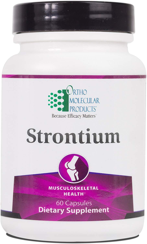 Ortho Molecular – Strontium – 60 Capsules