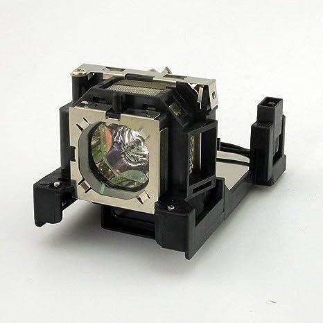 Supermait - Lámpara de Repuesto para proyector con Carcasa ...