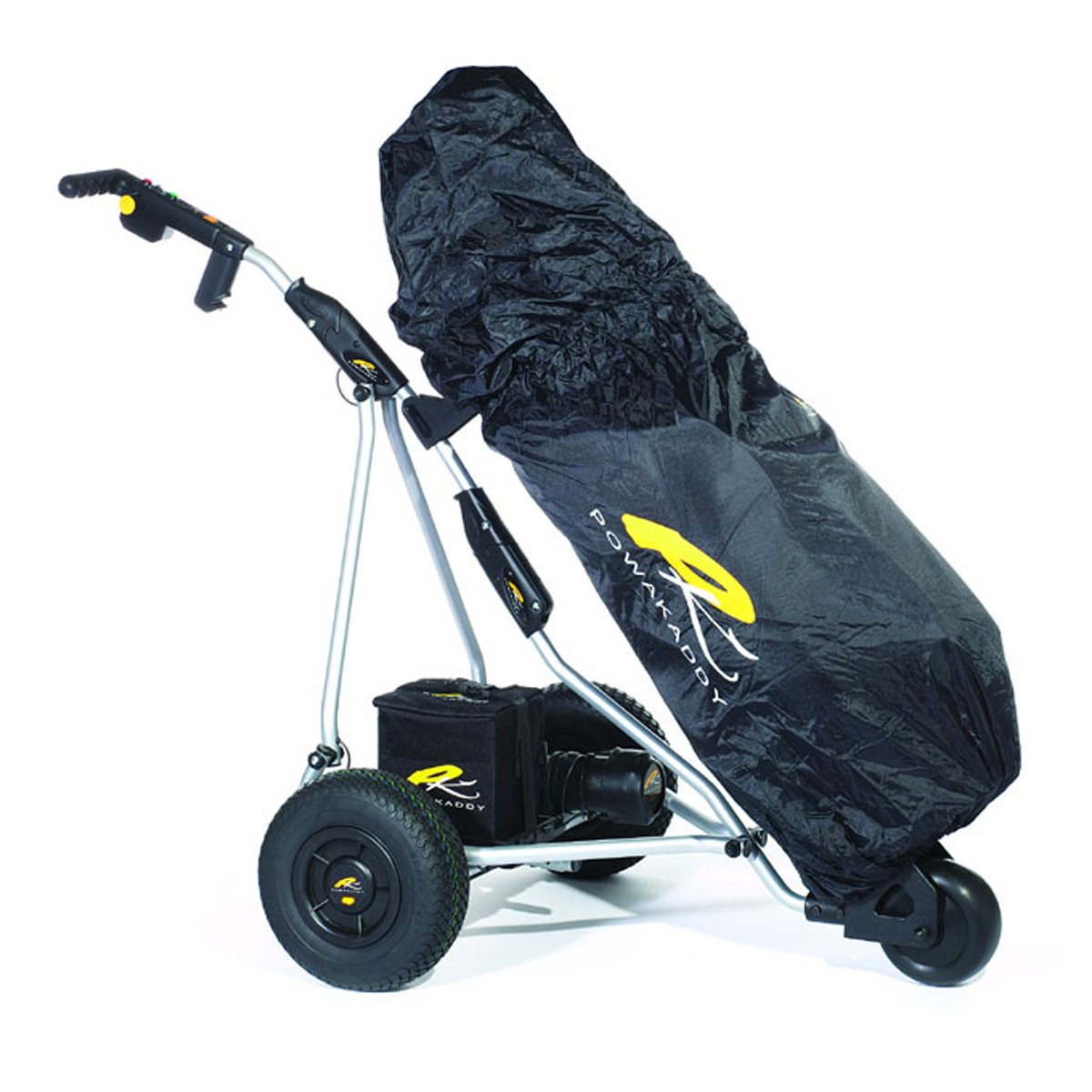 Powakaddy 2012 Golf Bag Rain Cover Black Fits All Bags