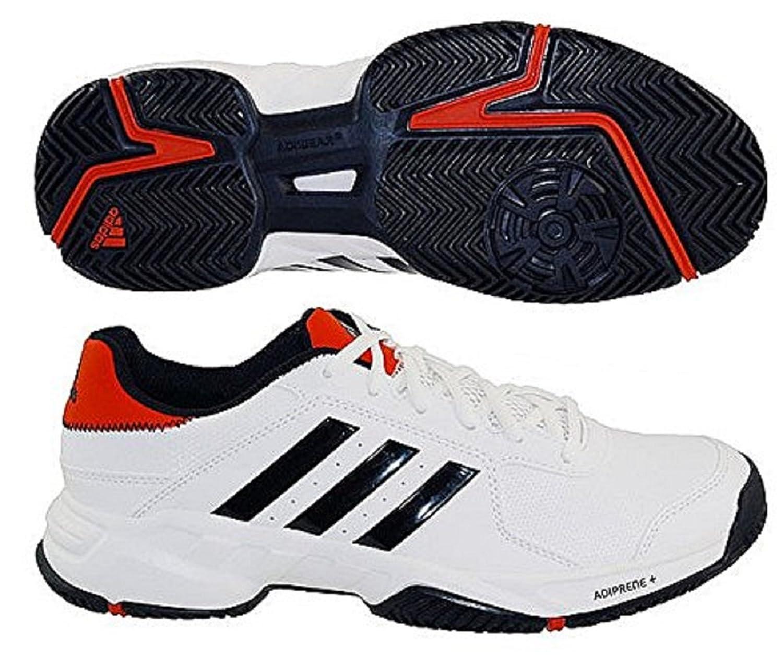 Adidas Barricade Court Men's Tennis Shoe White/Black/Red