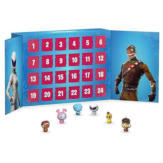 Funko Advent Calendar Calendario Adviento Fortnite, Multicolor, Talla Única (42754)