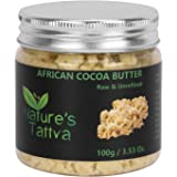 Nature's Tattva Raw Organic Unprocessed and Unrefined Cocoa Butter, 100g