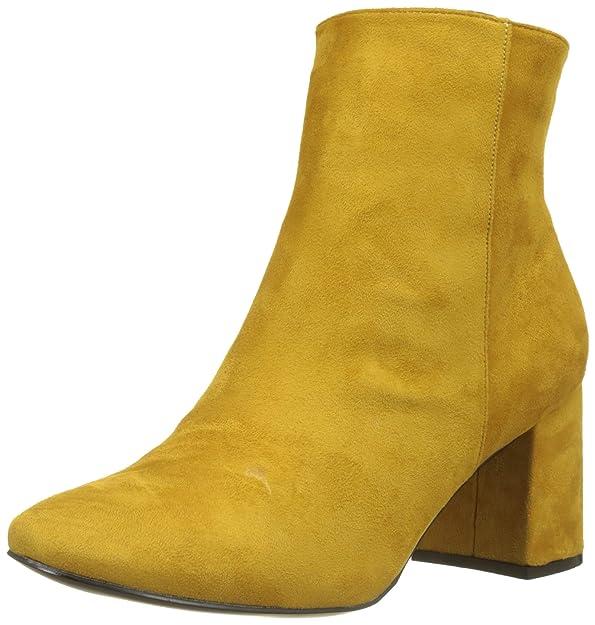 New Look Wide Foot Clarissa, Botines para Mujer, Amarillo (Dark Yellow 87), 40 EU: Amazon.es: Zapatos y complementos
