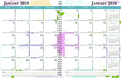 Calendar Planner 2019 Amazon.: House of Doolittle 2019 Calendar Planner, Monthly