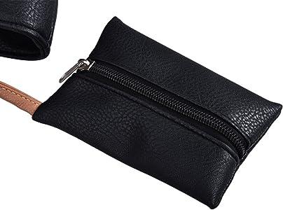 Amazon.com: DGY PU bolso único bolso bandolera cartera PU ...