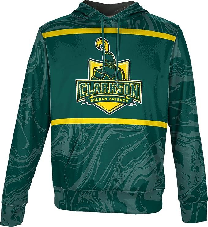 350fd073 ProSphere Clarkson University Men's Pullover Hoodie, School Spirit  Sweatshirt (Ripple) at Amazon Men's Clothing store: