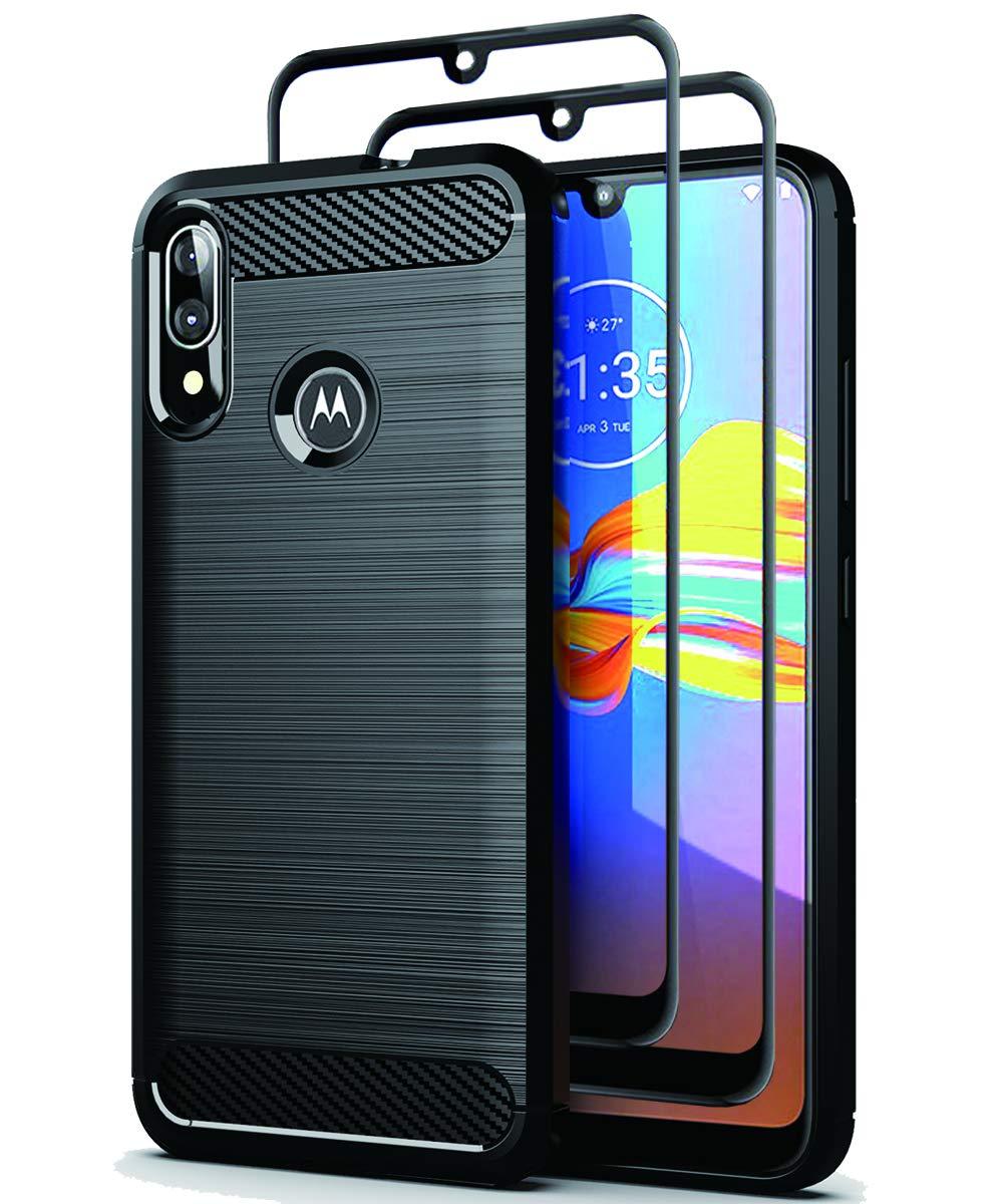 Funda + Vidrio Templado Para Motorola Moto E6 Plus