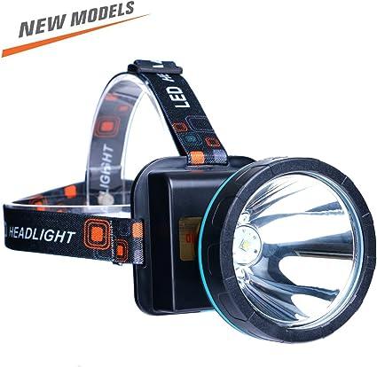 USB DEL Rechargeable Tête Torche Lampe projecteur lumineux Lampes Lumières Camping