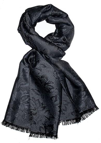 LORENZO CANA Foulard damas pour l`homme – écharpe noble avec les mesures de  55 c7ad3b9f077