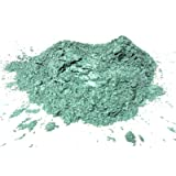 Slice of the Moon Green Mica Powder15 grams, Metallic Powder - Cosmetic Mica Powder for Lipsticks, Lip Balm, Bath bombs and More,