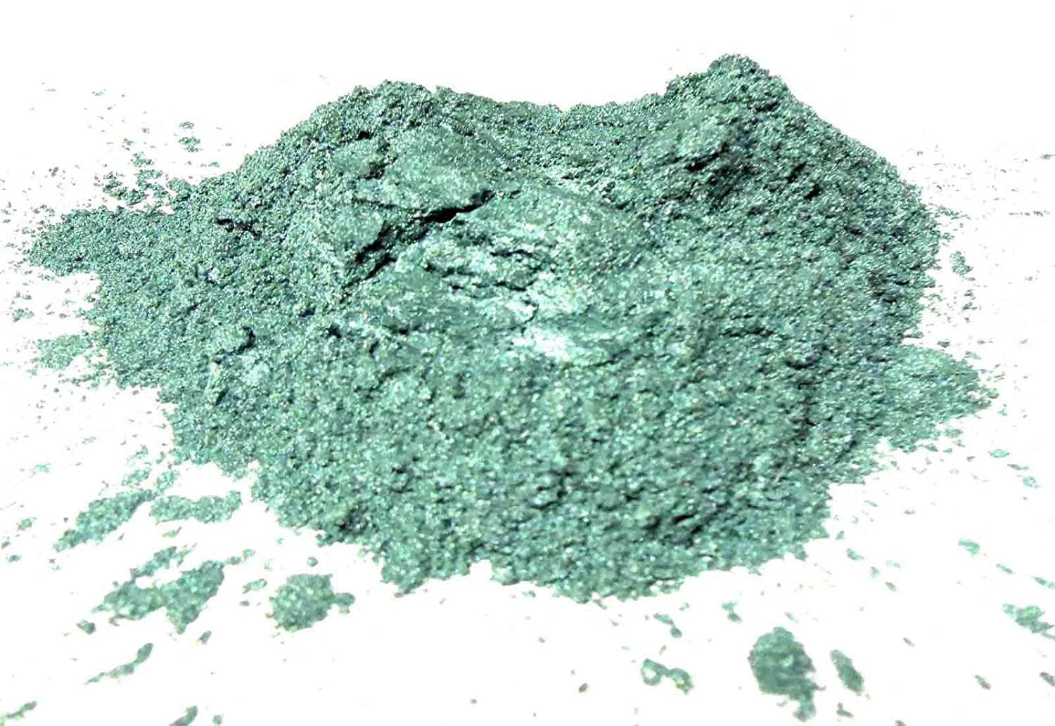 Dark Green Mica Powder15 grams, Metallic Green Mica Powder, Cosmetic Mica Powder for Lipsticks, Lip Balm, Bath bombs and More, Slice of the Moon EKS Entertainment Group