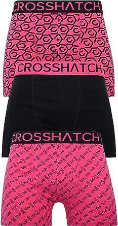 Boxer da uomo confezione da 3 pezzi colore: Tresco Crosshatch