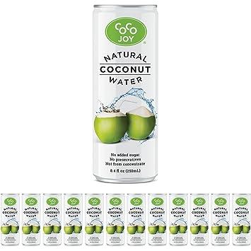 Amazon Coco Joy Coconut Water 8 Oz Refreshing Low Calorie