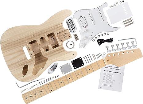 Kit de guitarra eléctrica Rocktile PST-Style: Amazon.es ...
