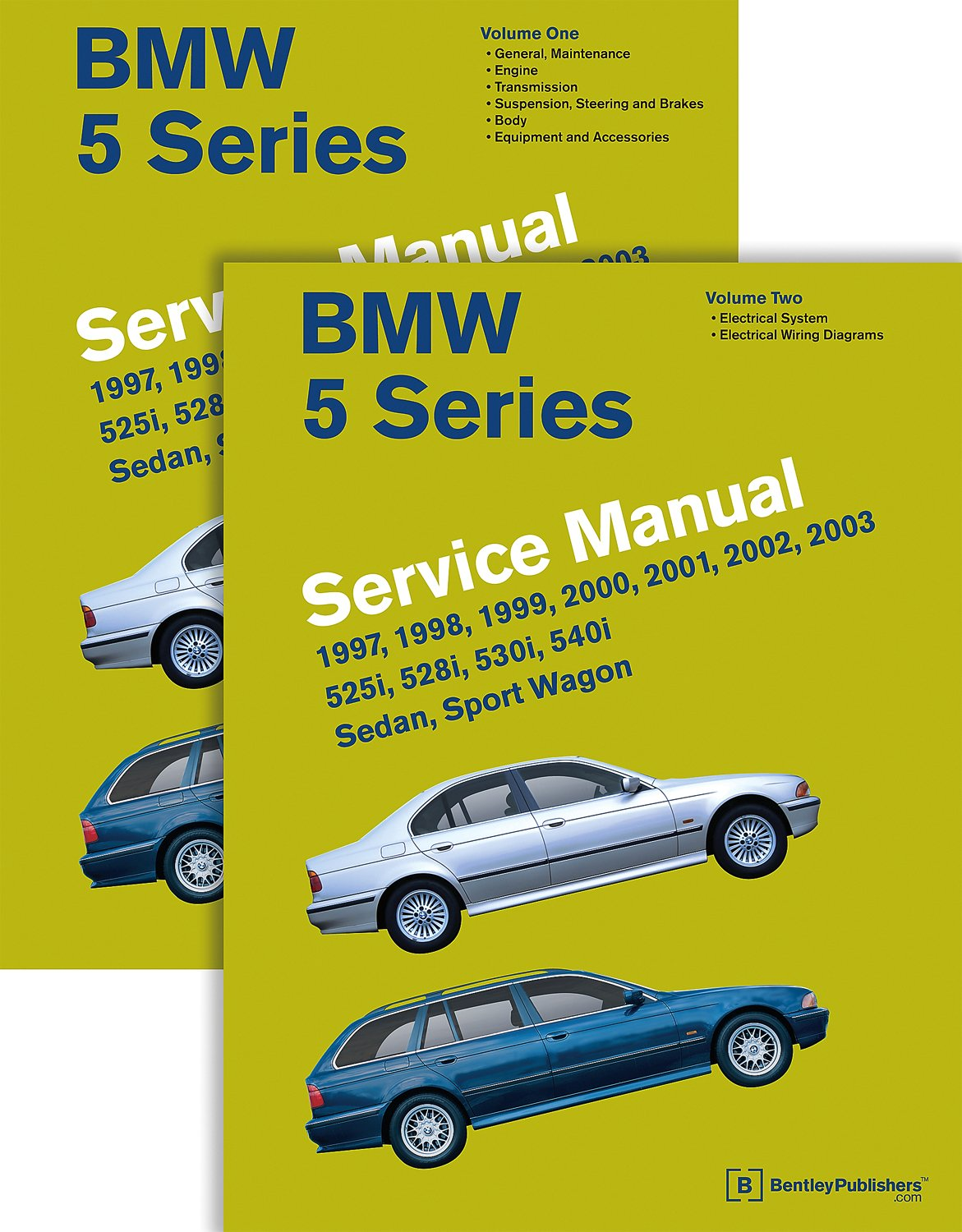 BMW 5 Series 2 Vol (E39 Service Manual: 1997, 1998, 1999, 2000, 2001, 2002,  2003: 525i, 528i, 530i, 540i, Sedan, Sport Wagon: Bentley Publishers: ...