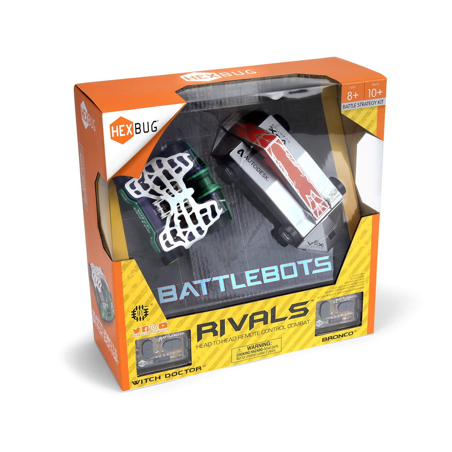 HEXBUG BattleBots Rivals (Bronco and Witch Doctor) by HEXBUG (Image #5)
