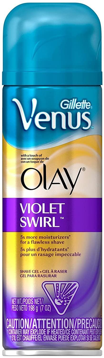 Gillette Venus with a touch of Olay Shave Gel, Violet Swirl - 7 oz 47400653863