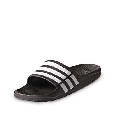 8d6dbfe13977 adidas Duramo Slide Shower Sandals - Black White - Size 6  Amazon.co ...