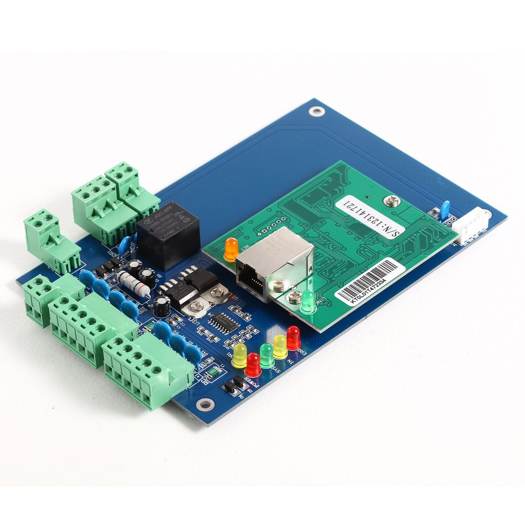 UHPPOTE Professional Wiegand 26 Bit TCP IP Network Access Control Board with Software For 4 Door 4 Reader