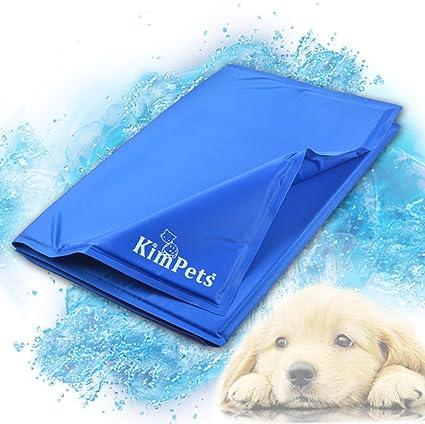 Yiuu Alfombrilla De Refrigeración para Mascotas, Gel Pad, Cama De Verano para Perros,