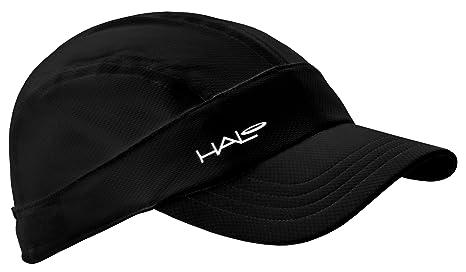 e64fe034d06 Amazon.com  Halo Headbands Sweatband Sports Hat Black  Sports   Outdoors