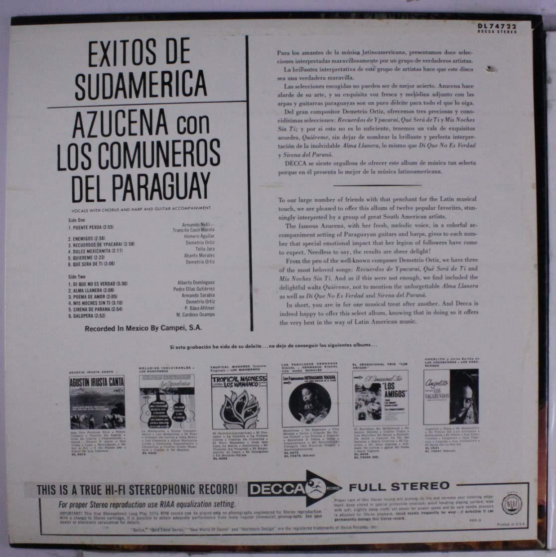 Amazon.com: exitos de sudamerica: Music